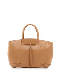 Grace East/West Leather Tote Bag, Camel. shopbop.com. $595