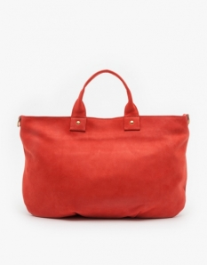Clare Vivier Poppy Nubuck Messenger Bag. needsupply.com $380