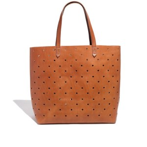 The Holepunhc Tote, Madewell.com. $188 The Holepunch Transport Tote